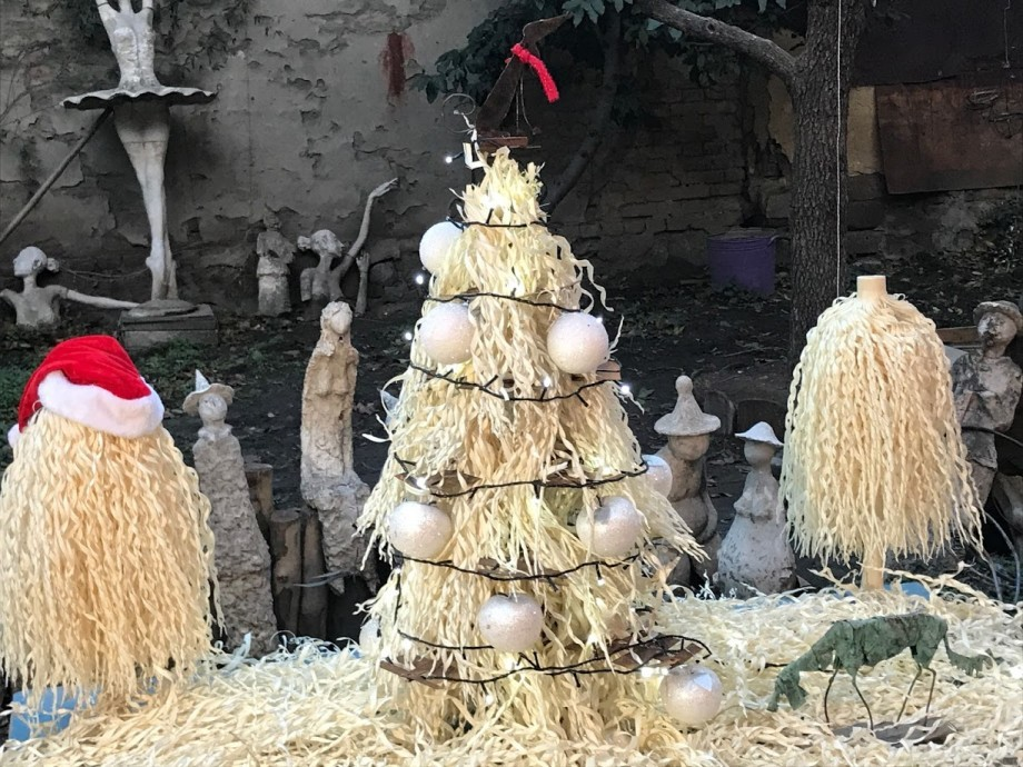 Чичилаки: новогодняя елка на грузинский лад