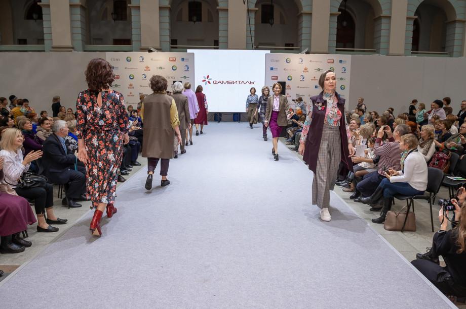 «Душевный bazar»: гости увидели, как модели 50+ ломают стереотипы о возрасте