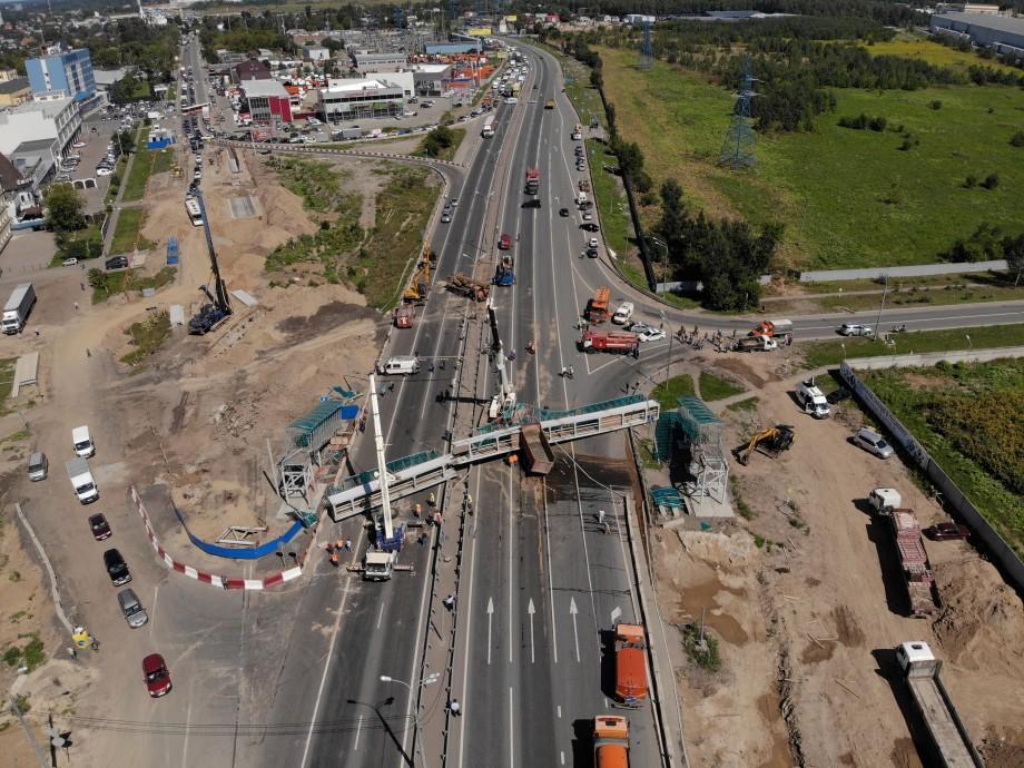 Движение по Ярославскому шоссе откроют к 15:00
