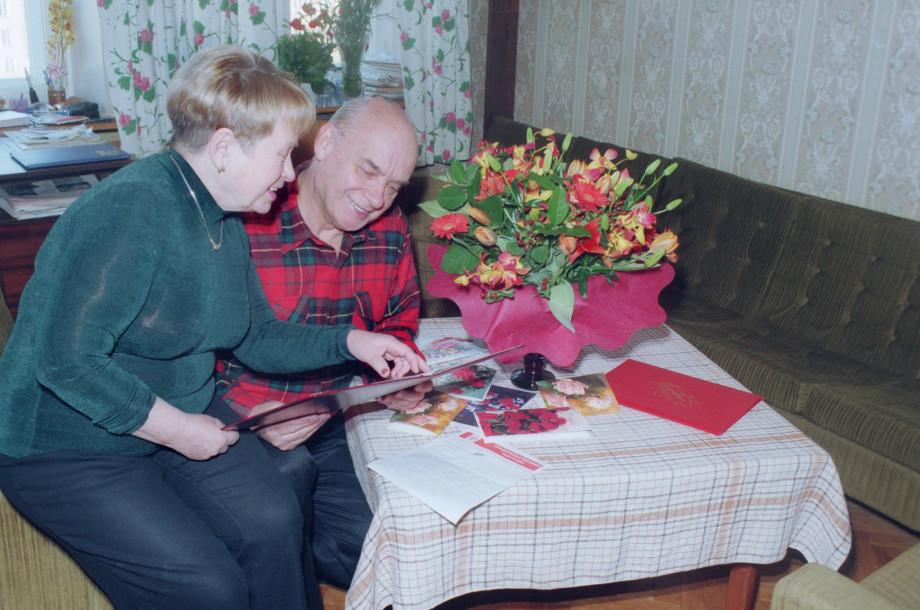 Романтик и его муза: к 90-летию Николая Добронравова