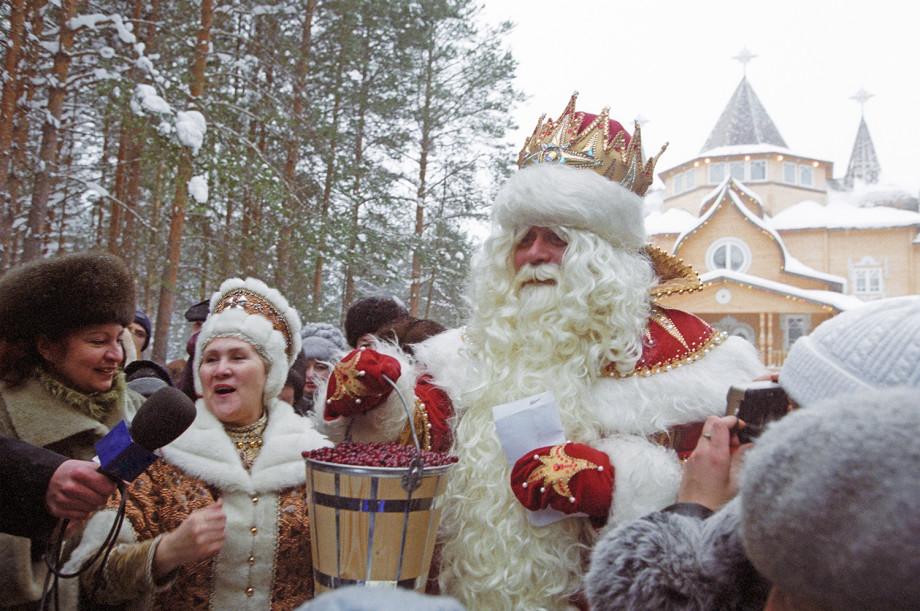 Где встретить Новый год в России: от Великого Устюга до Сочи
