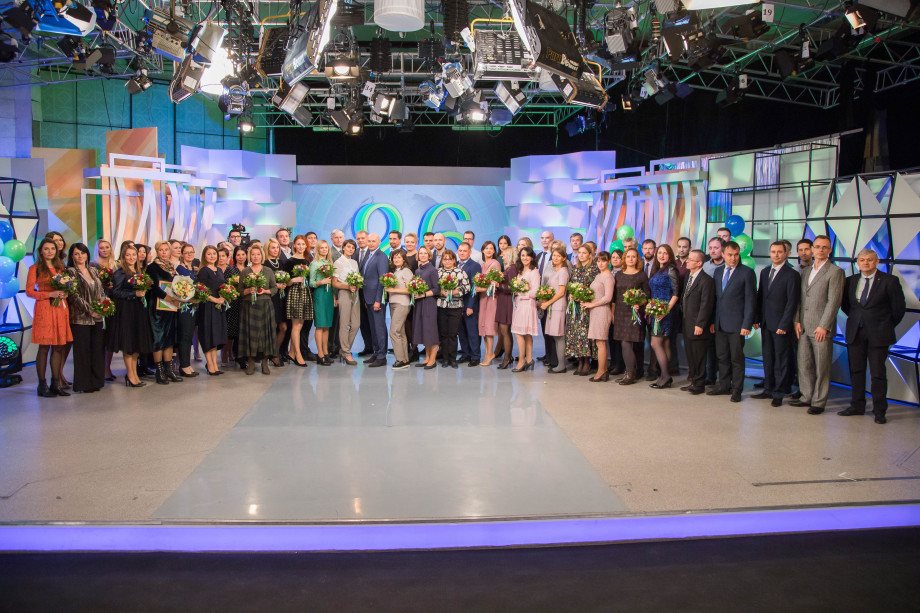 Сотрудники «Мира» получили награды в честь 26-летия телеканала