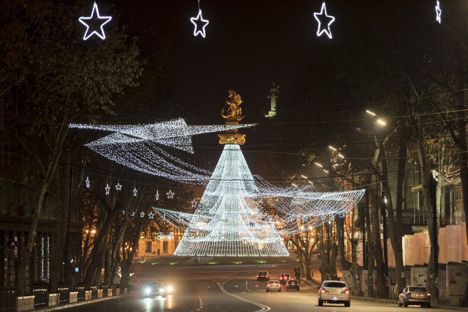 Как празднуют Новый год в Грузии