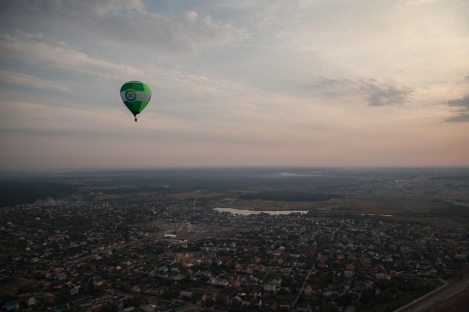 Радио «Мир» разыграет среди жителей Воронежа полет на воздушном шаре