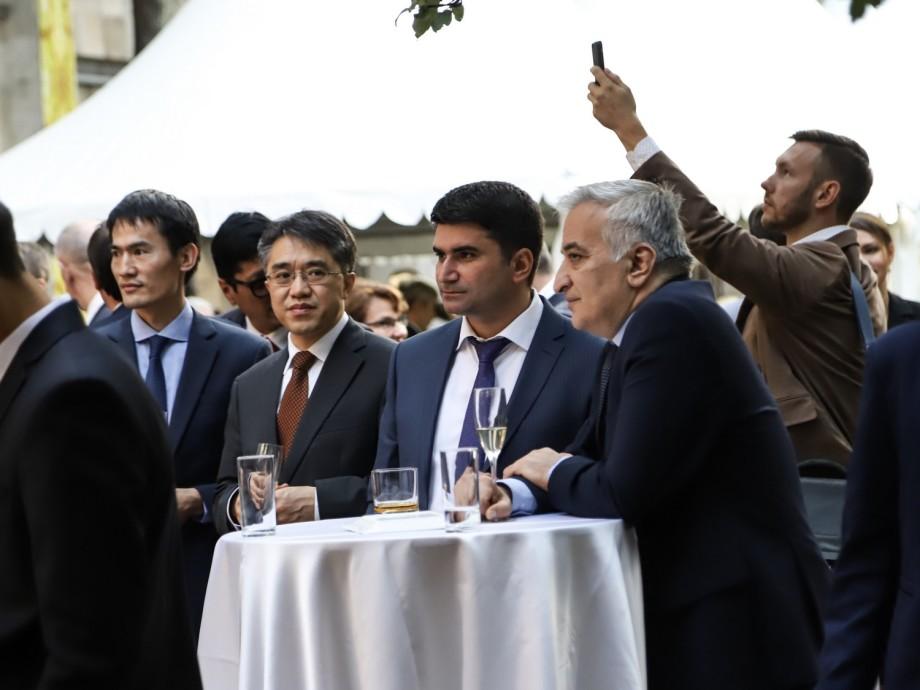 В посольстве Узбекистана в Москве прошел прием в честь Дня независимости