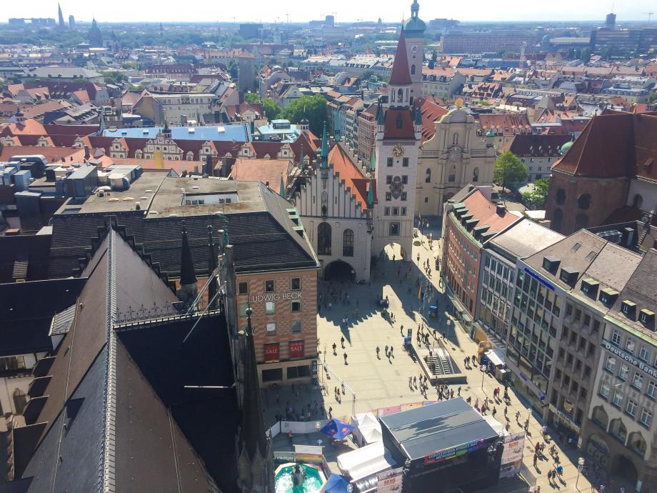 Как посмотреть Мюнхен за один евро?