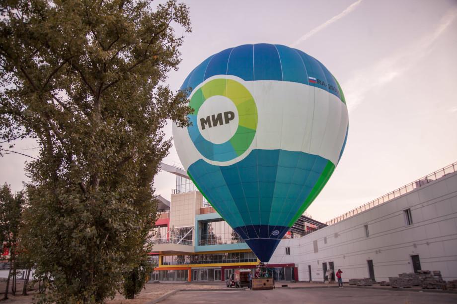 Две победительницы конкурса радио «Мир» поднялись в небо над Воронежем