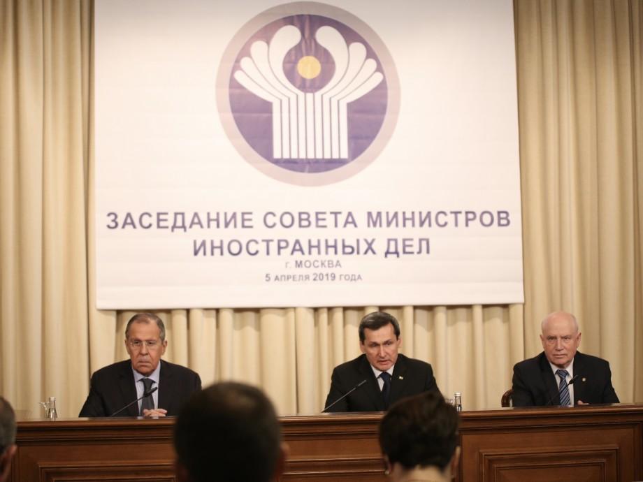 Лавров: Углубление интеграции в рамках СНГ – безусловный приоритет России