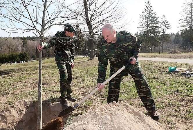 Лукашенко: Субботники – лучшее из прошлого, что нужно привнести в настоящее