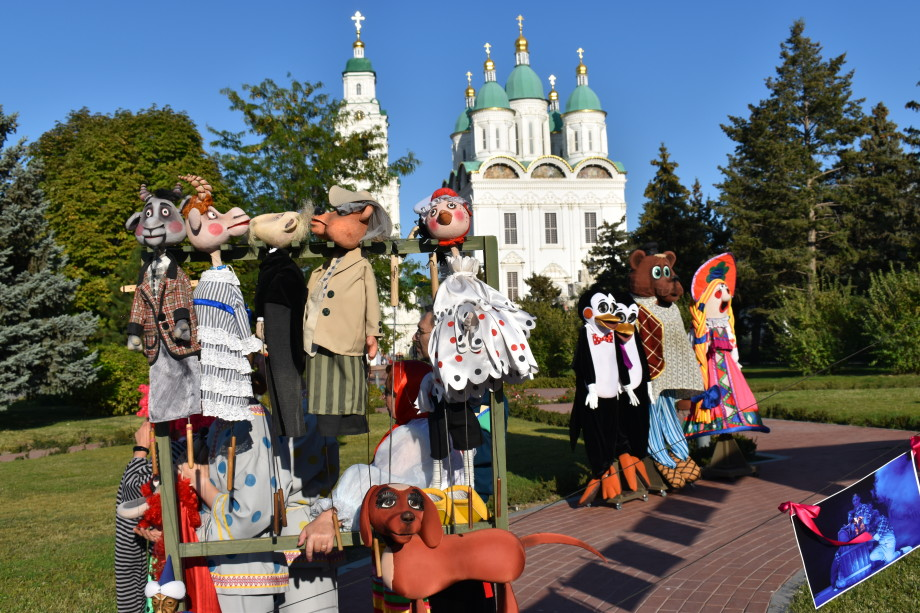 Астраханский кремль стал центром Всероссийского театрального марафона
