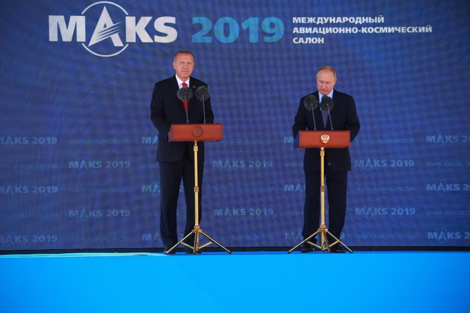МАКС-2019: в Подмосковье открылась крупнейшая выставка авиатехники