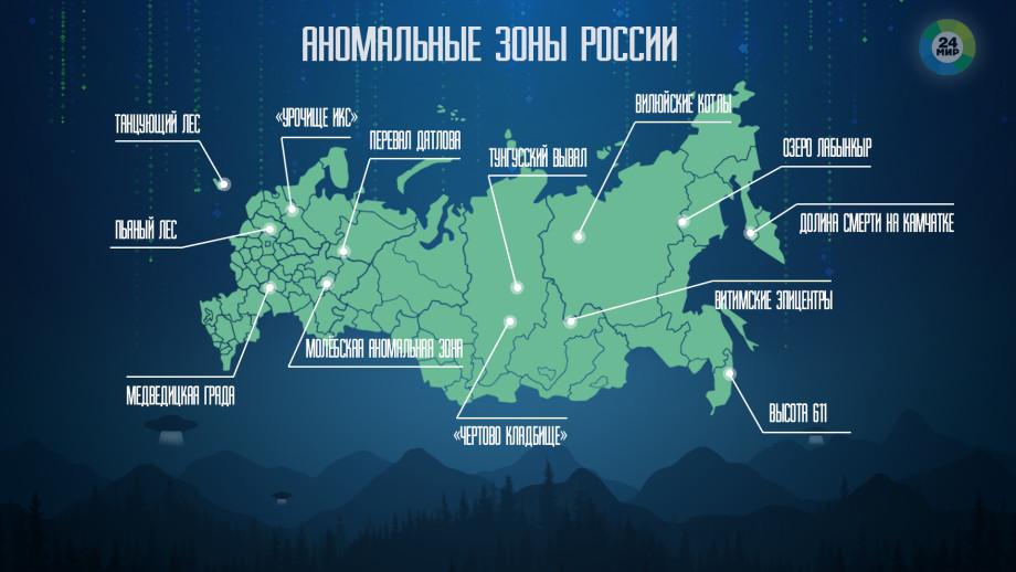 Пикник на обочине, или Аномальные зоны России