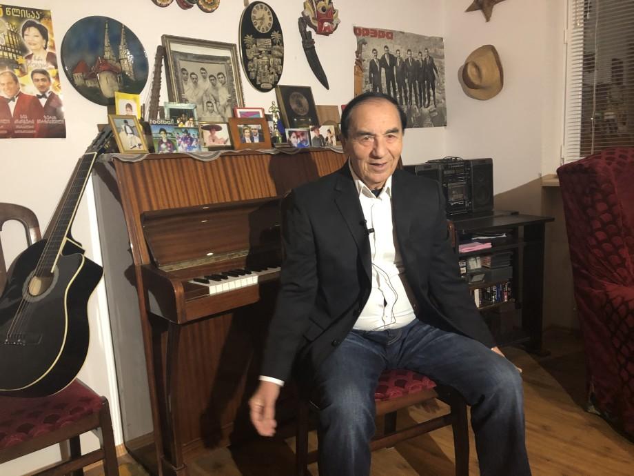 Насыщенная жизнь: солист «Орэры» Теймураз Давитая – 60 лет на сцене