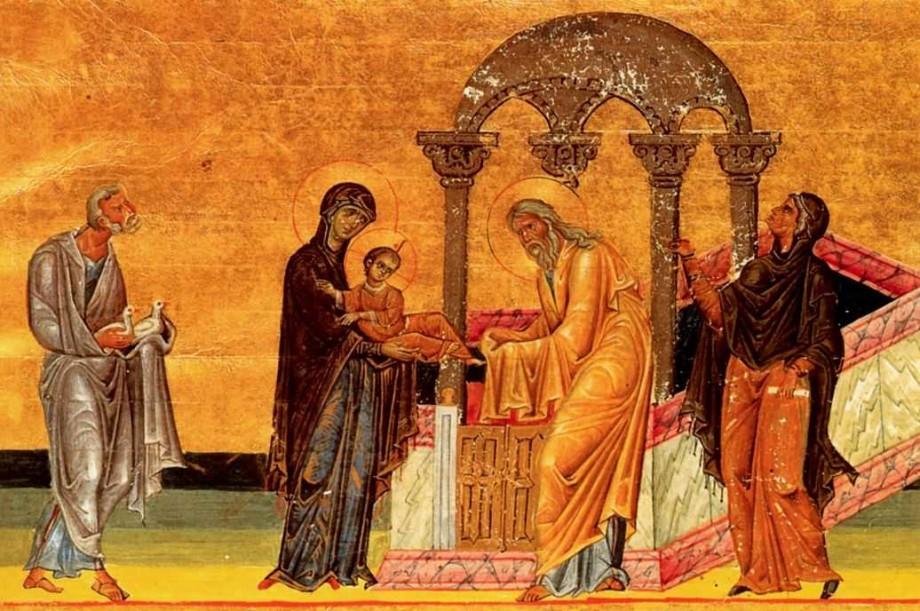 Сретение Господне: встреча человека с Богом