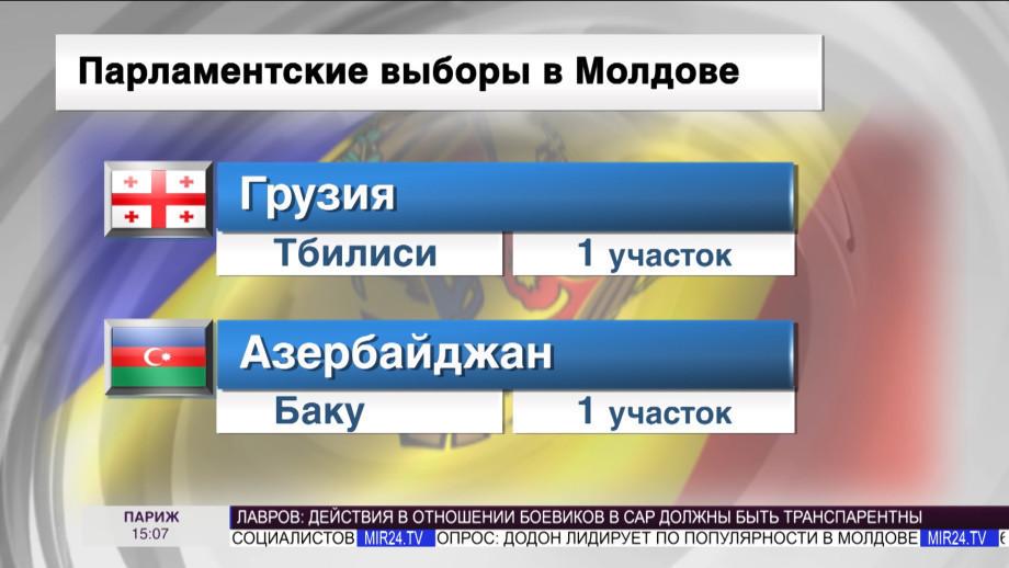 Премьер Молдовы Филип проголосовал на выборах в парламент