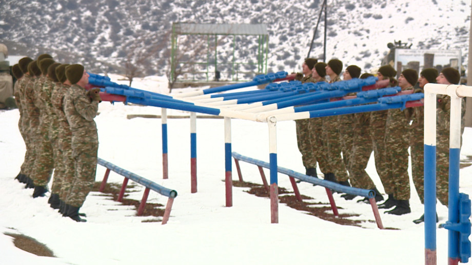 Как проходит подготовка новобранцев в Армении