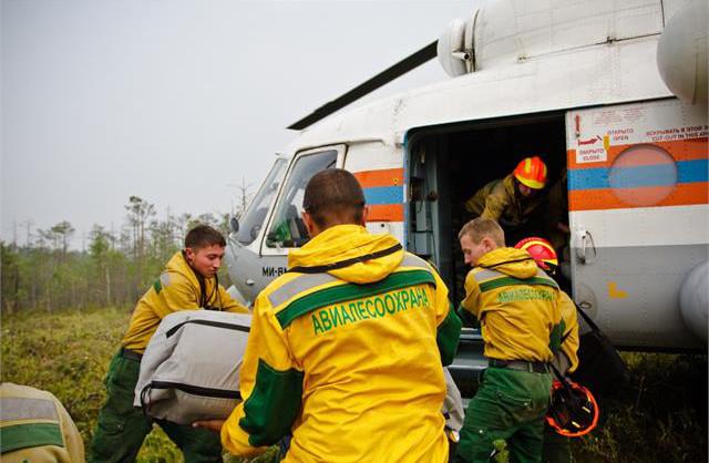 Пожарный десант: как готовят уникальных специалистов «Авиалесоохраны»