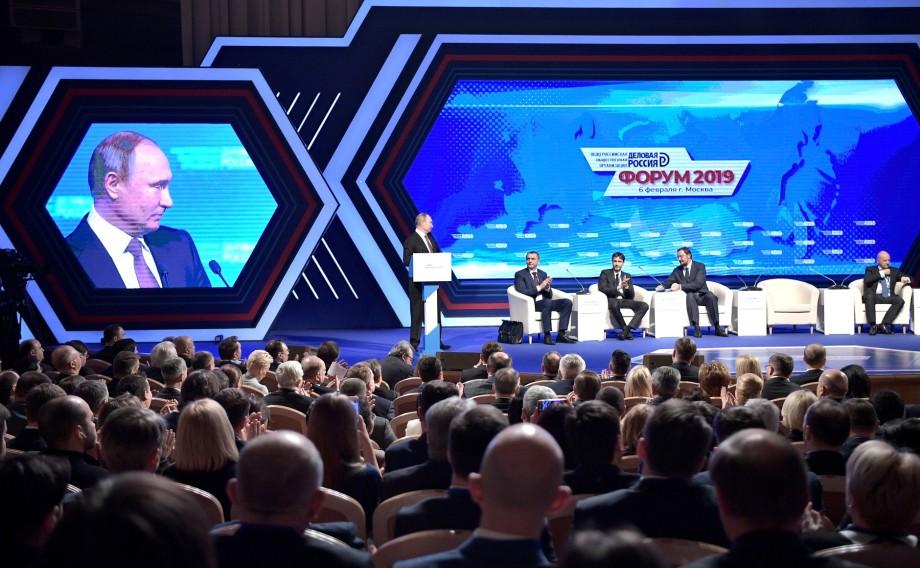 «Роль бизнеса колоссальна»: Путин внес предложения по деловому климату в России