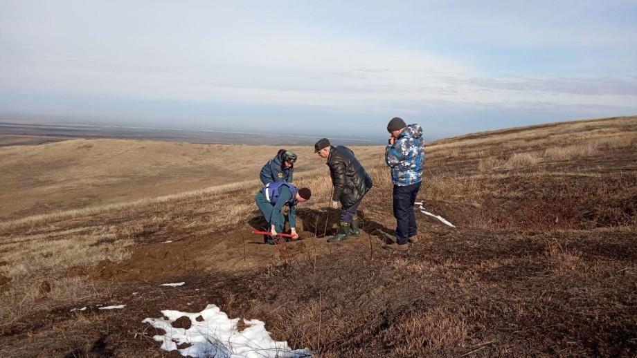 В Северной Осетии уничтожили снаряд времен Великой Отечественной