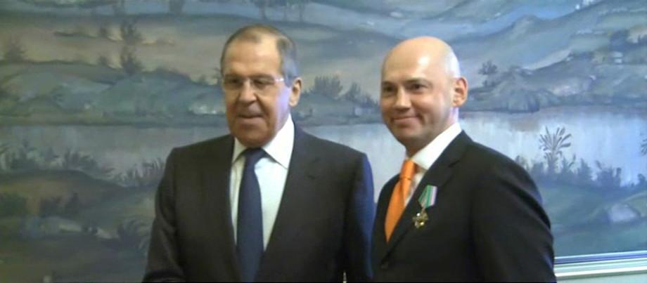 Глава МИД России наградил председателя МТРК «Мир» Радика Батыршина