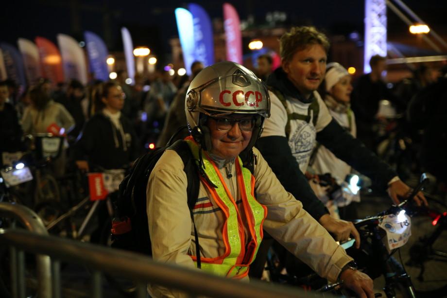 На ночном велофестивале в Москве установили рекорд Гиннесса