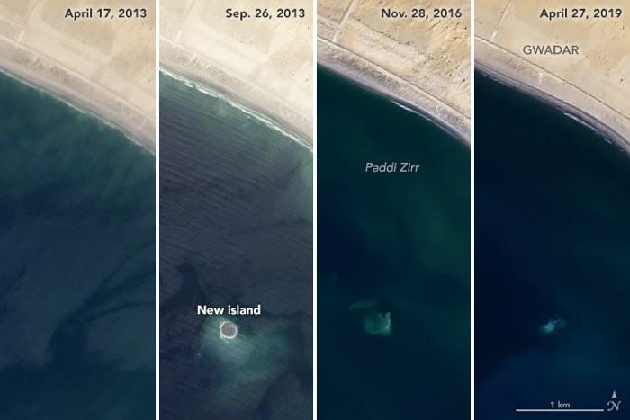 Раскрыта тайна исчезнувшего острова в Аравийском море