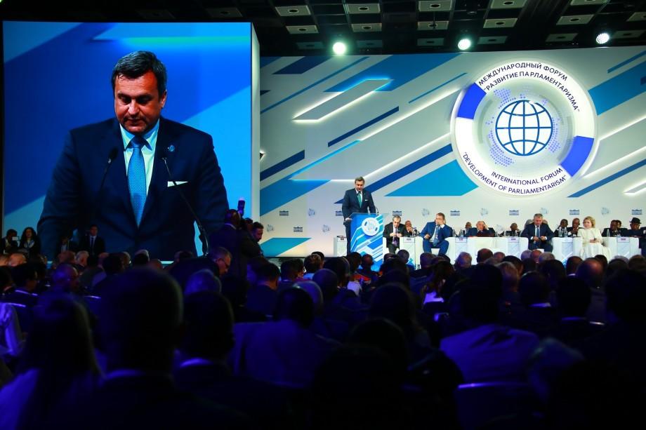 Володин: Борьба с террором требует отказа от двойных стандартов