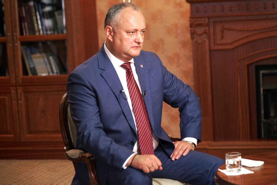 Игорь Додон рассказал, почему олигархам удавалось повлиять на власть в Молдове. ЭКСКЛЮЗИВ