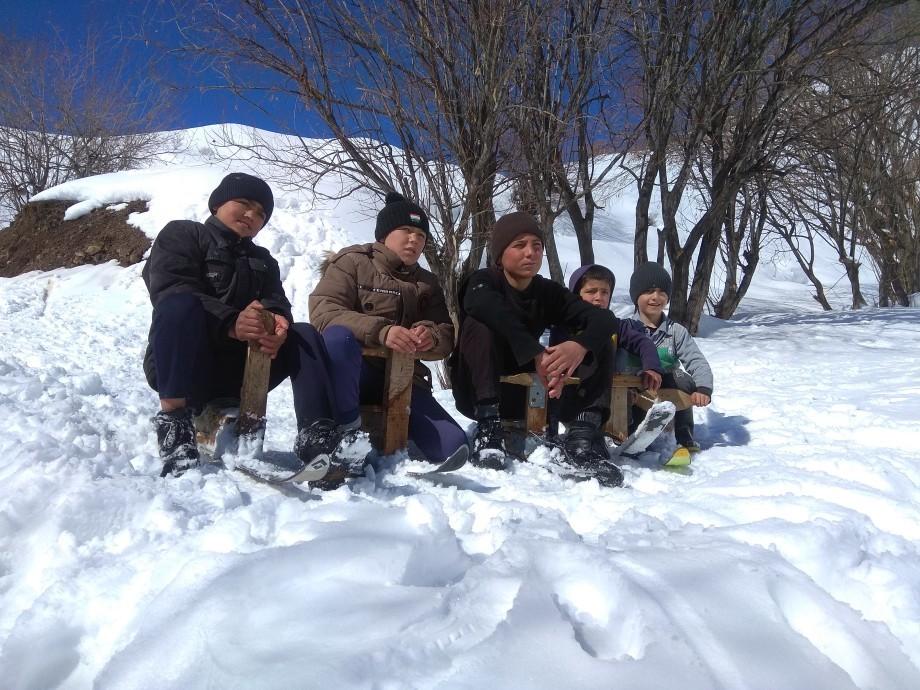 Как таджики зиму укротили