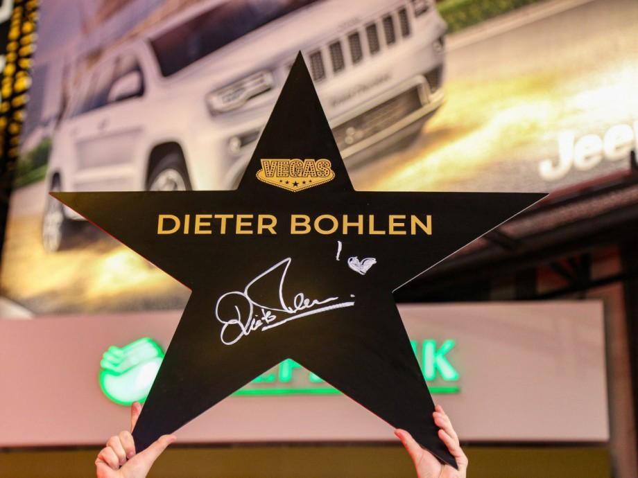 Дитер Болен подписал звезду на аллее славы и дал концерт в Москве