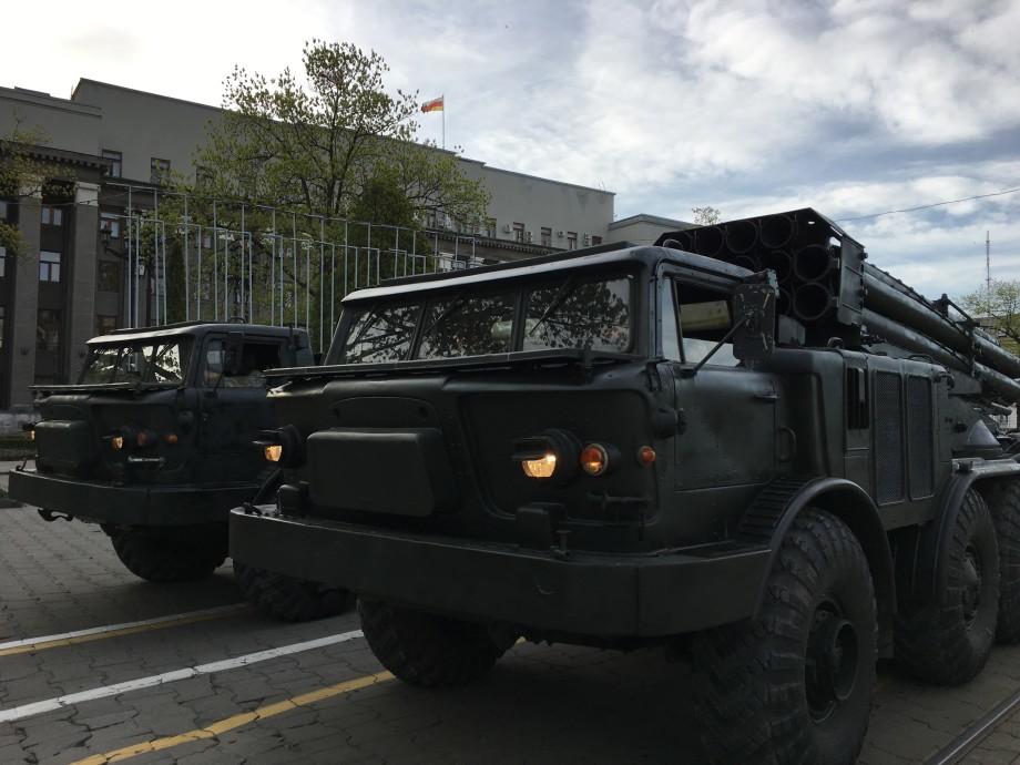 «Тигр» и «Искандер-М»: во Владикавказе отрепетировали парад Победы
