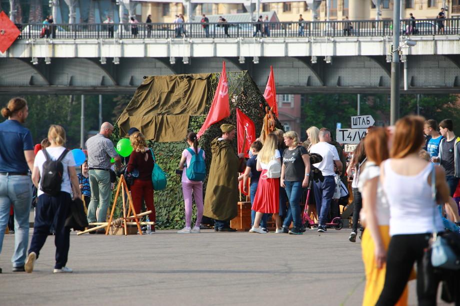 «Память сердца»: на акцию «МИРа» в Парке Горького приехали из разных городов