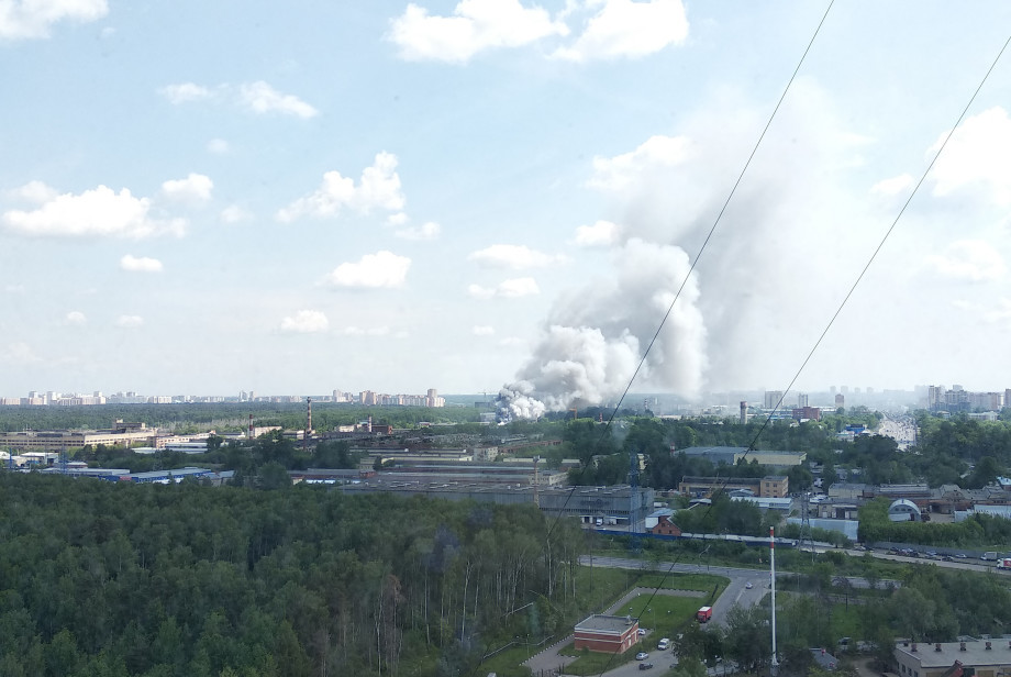 МЧС опровергло слухи о пожаре на оборонном заводе «Рубин» в Балашихе