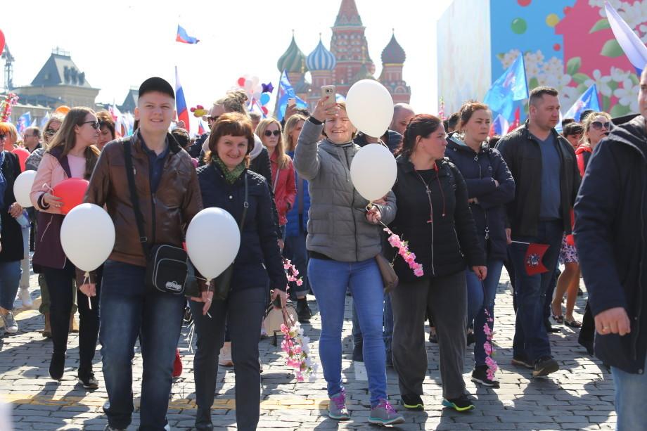 От Тихого океана до Балтики: россияне вышли на первомайские демонстрации