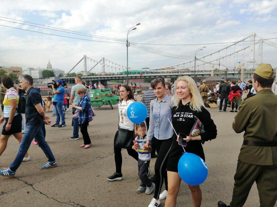 «Память сердца»: гости «МИРа» в Парке Горького обучились азбуке Морзе