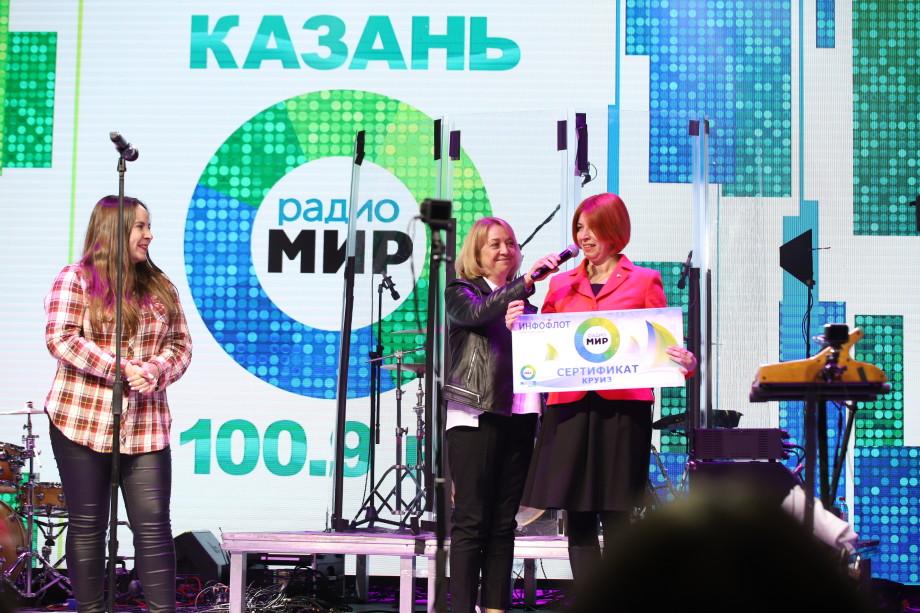 Любимые артисты и подарки: в Казани проходит «Танцемания» от радио «МИР»