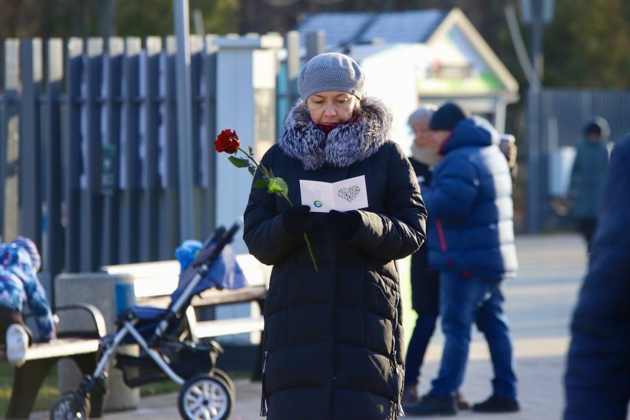 День матери: «МИР» проводит праздник в московском парке