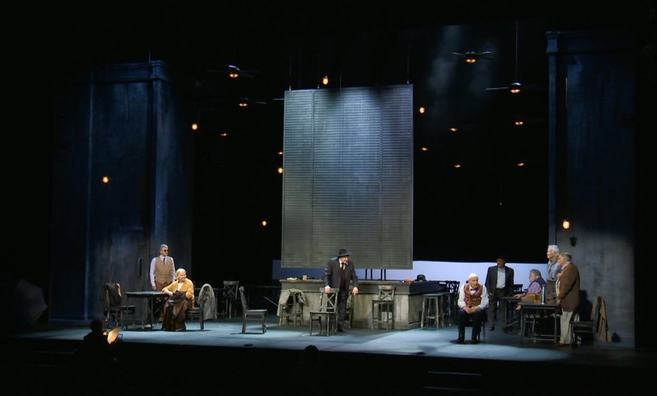 В БДТ к юбилею Олега Басилашвили показали «Палачей» по пьесе МакДонаха