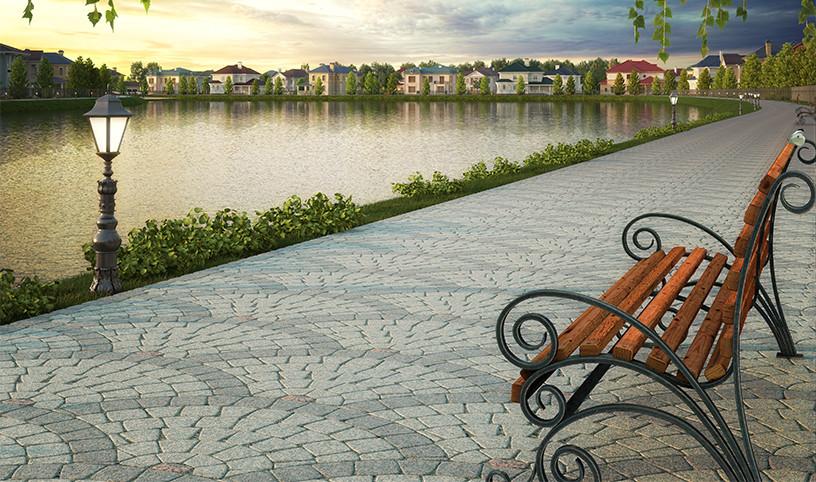На волжских берегах появится Екатериновский парк площадью в десятки гектаров