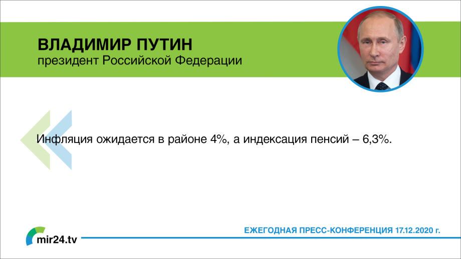 Ежегодная пресс-конференция Владимира Путина. ГЛАВНОЕ (Карточки)