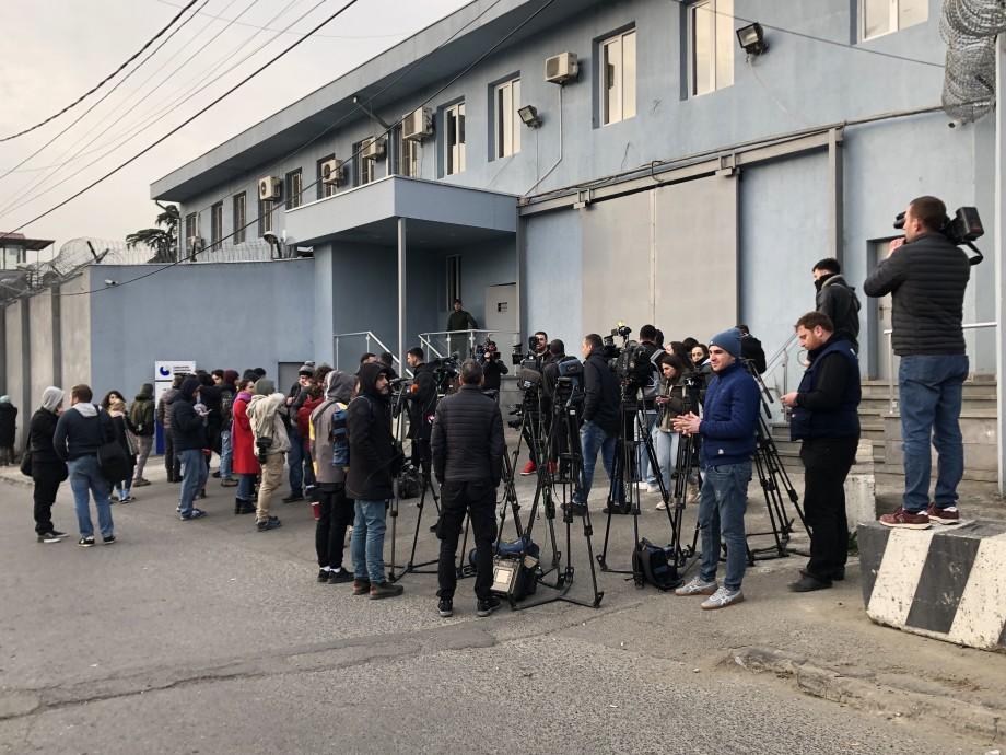 Вышедший на свободу Мерабишвили поделился грозными планами