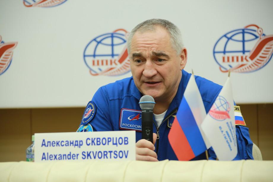 Космонавт Скворцов: Человека в космосе не заменить, но роботы нужны