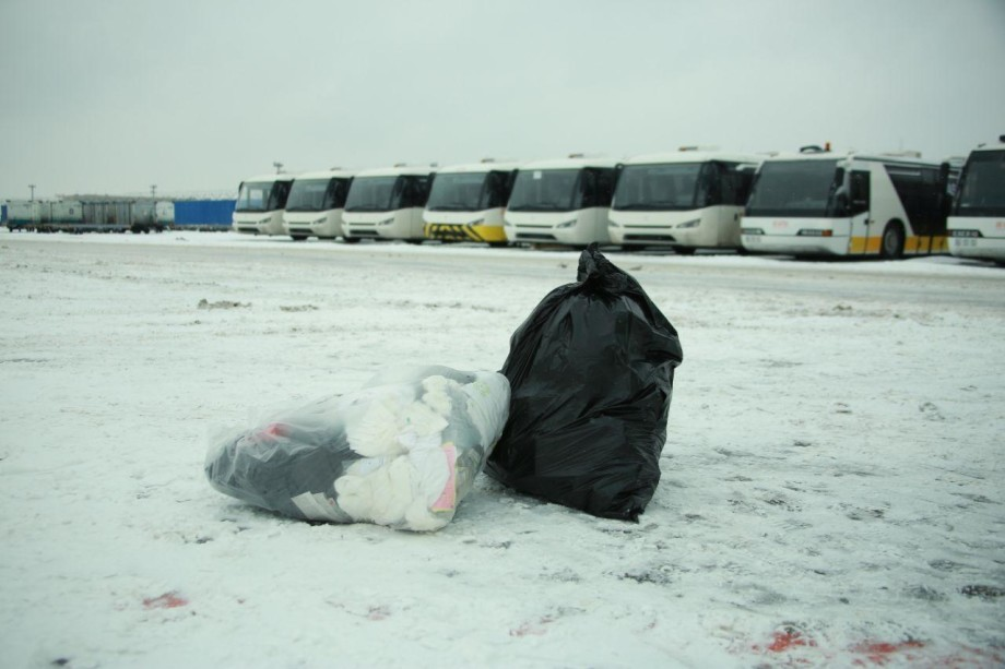 В Домодедове начали сортировать мусор с самолетов