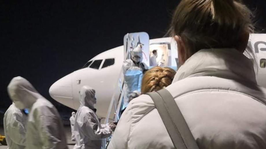 Особый рейс: из Китая в Тбилиси прибыли 32 человека