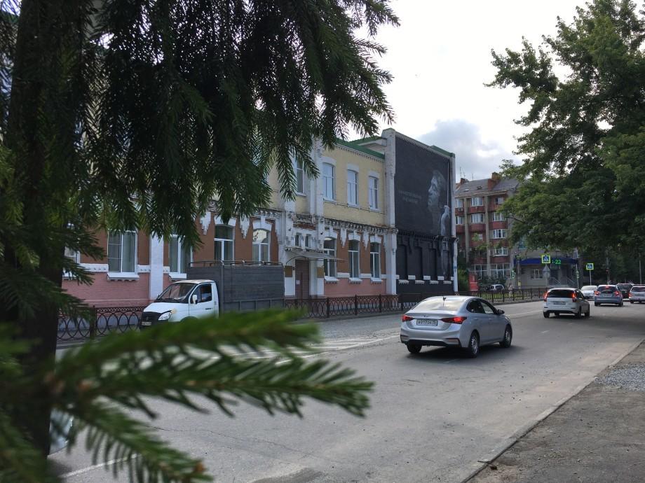 Граффити с изображением Валерия Гергиева появилось во Владикавказе