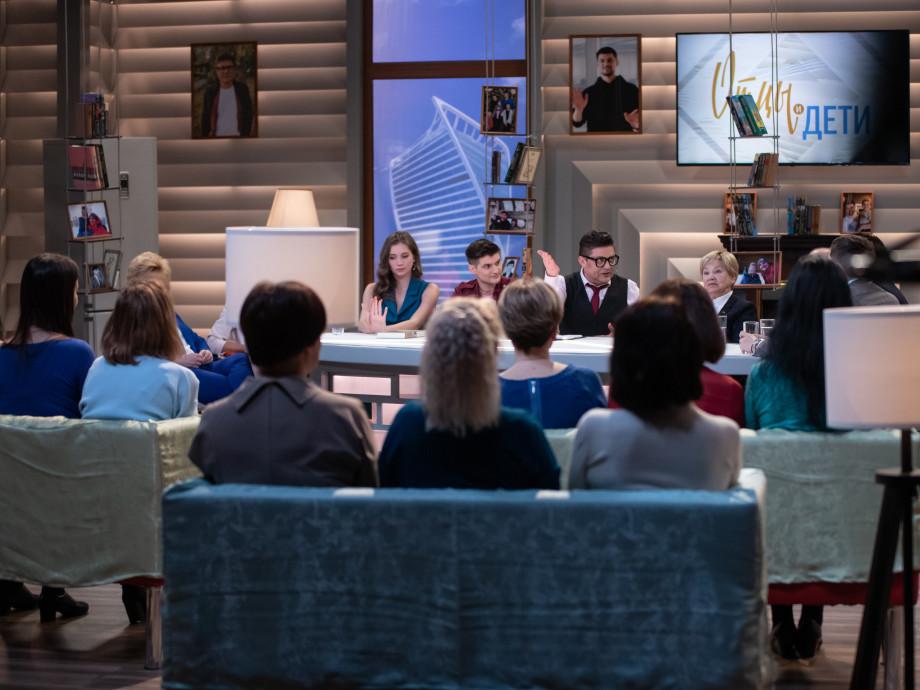 Премьера на канале «МИР»: как проходят съемки ток-шоу «Отцы и дети»