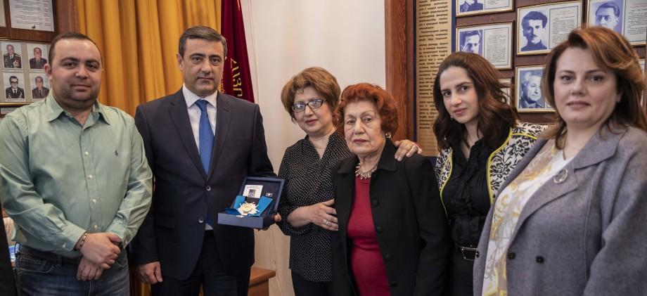В Армении посмертно наградили легендарную разведчицу Гоар Вартанян