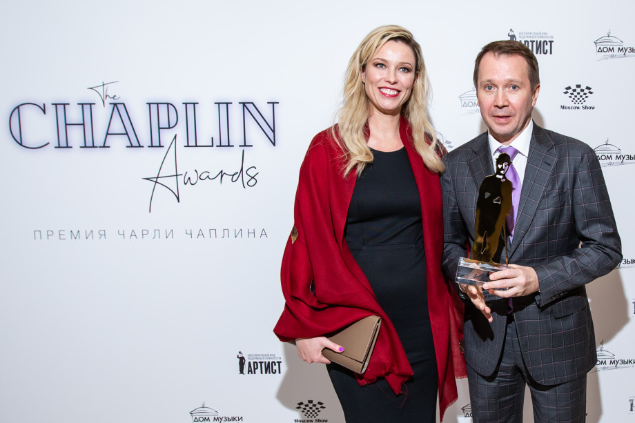 Миронов первым из российских актеров удостоился премии Чаплина