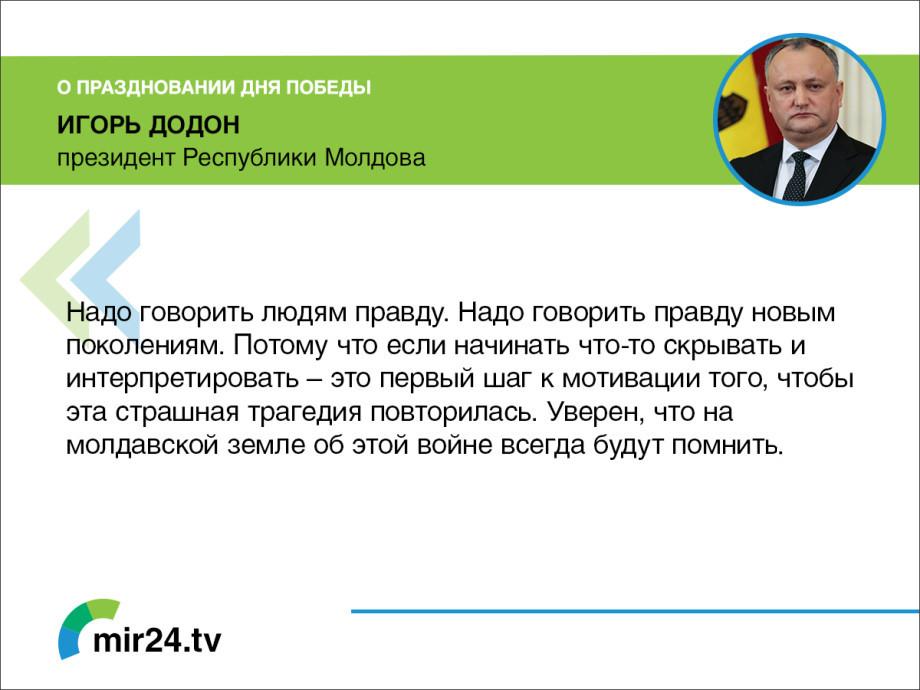 Лидеры стран СНГ рассказали о праздновании Дня Победы. КАРТОЧКИ