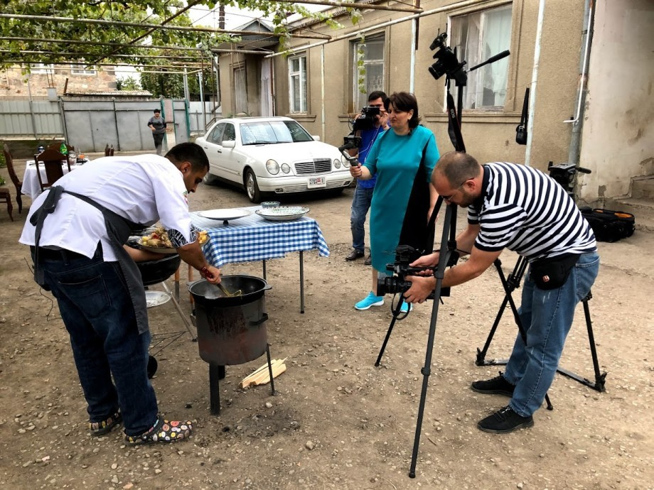 Идея, подсказанная пандемией: тбилисский шеф-повар проводит онлайн мастер-классы
